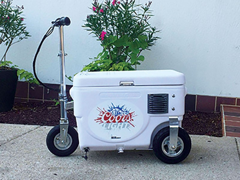 Coors Scooter Cooler