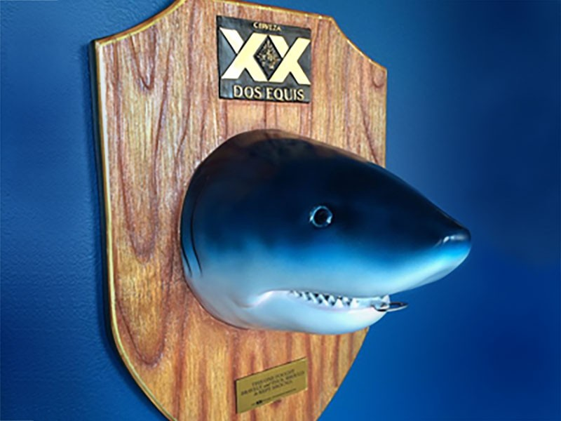 Dos Equis Bottle Opener & Mirror
