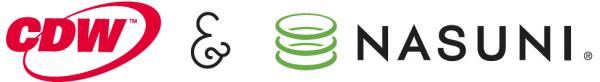 Nasuni-CDW-logos