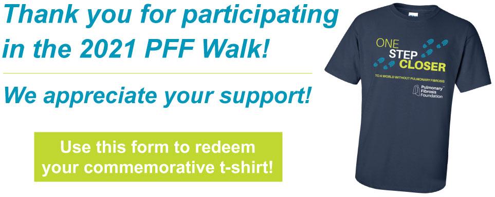PFF Walk offer